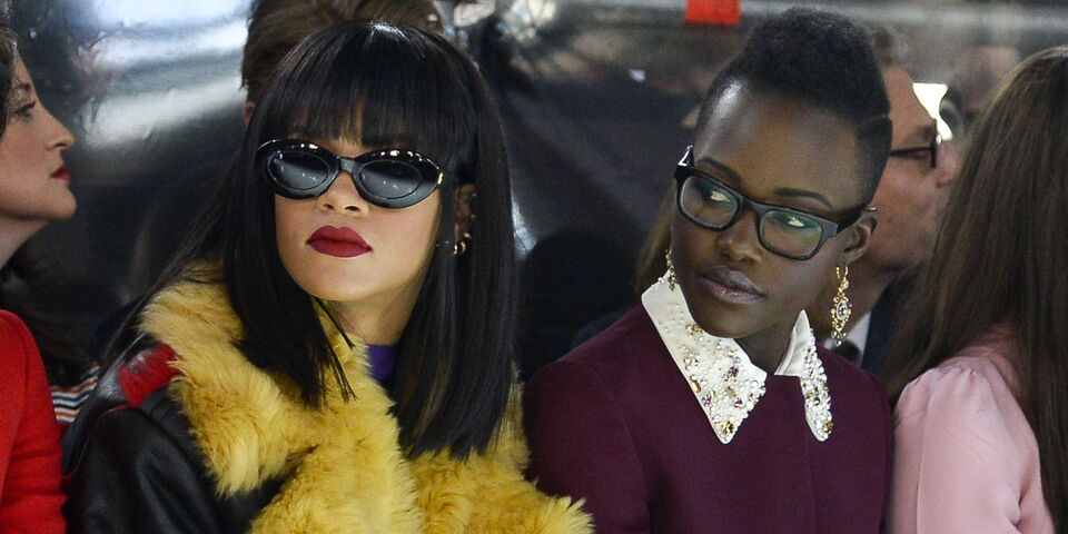 Rihanna And Lupita N'Yongo Are Starring In A Movie Together Thanks To Twitter