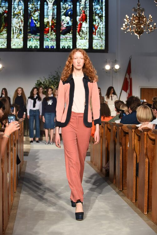 Alexa Chung Debuts Her Eponymous Fashion Line