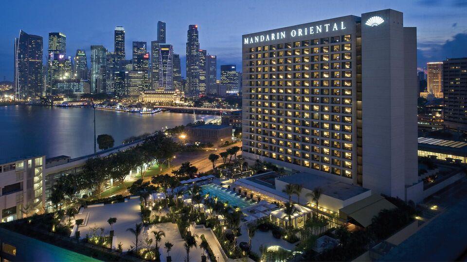 A Piaget Rose Stay At Mandarin Oriental Singapore