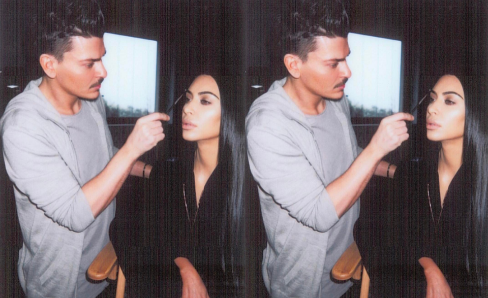 Kim Kardashian West's Make-Up Artist Mario Dedivanovic Teams Up With Laura Mercier