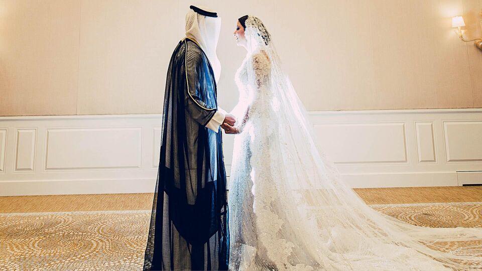 The Beautiful Wedding Of Nada Baeshen and Hamad Alrayes