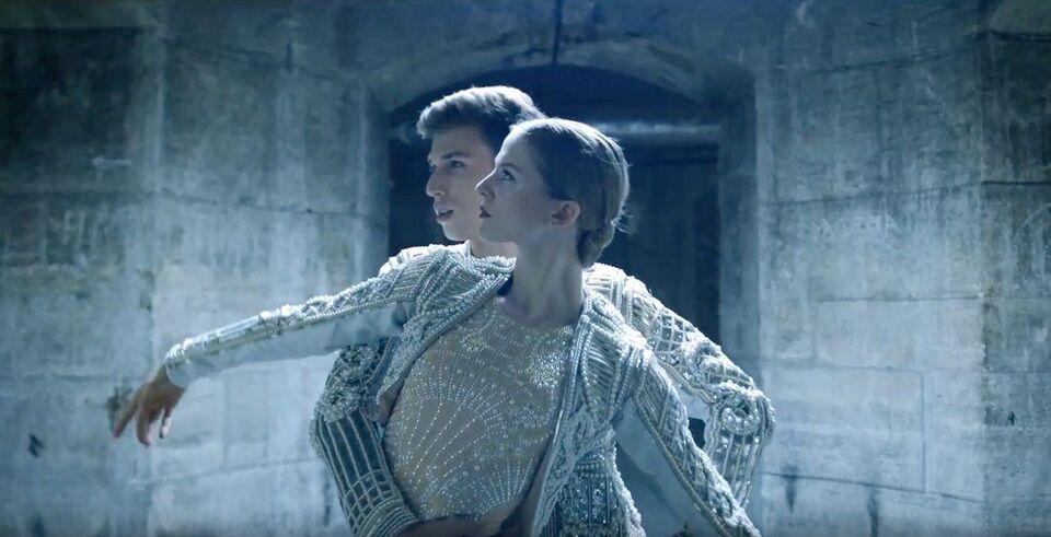 Watch And Dream: Balmain Dresses The Opéra De Paris Dancers