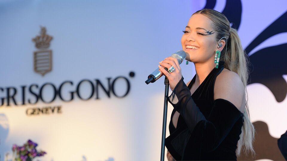 Rita Ora Dazzles At De Grisogono Cannes Concert