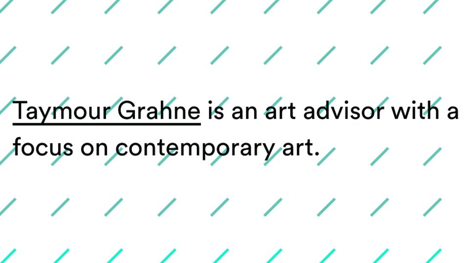 Taymour Grahne Gallery Closes Its Doors