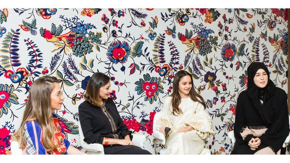 Tory Burch And Harper's Bazaar Al Arabiya Host A Saudi Suhoor