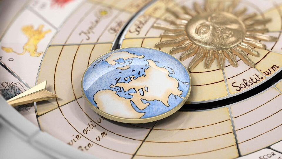 #BazaarLoves: The Latest Métiers d'Art Copernicus Timepieces From Vacheron Constantin