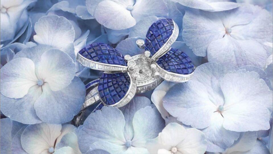 Celebrate Summer With Graff's Latest Princess Butterfly Secret Watch