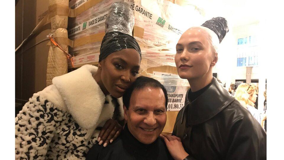 Naomi Campbell Returns To The Catwalk For Alaïa