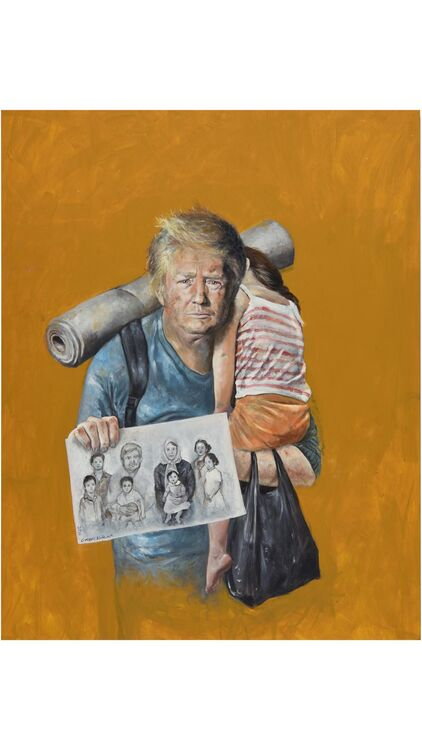 Abdalla Al Omari's The Vulnerability Series at Ayyam Gallery Aims to Provoke