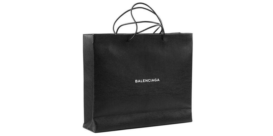 Balenciaga Has Released A Third Expensive Shopping Bag Lookalike