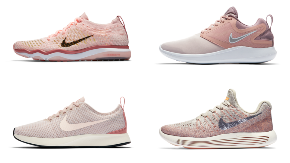 Nike Have Launched A Rose Gold Collection