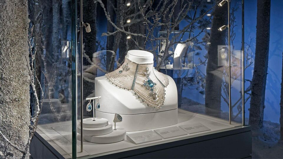 "Winter Wonderland: Escape The Heat With Boucheron's ""Hiver Impérial"" Jewels"