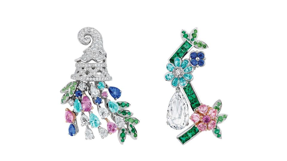 """Take A Botanical Stroll With The Latest """"Côté Jardin"""" Jewels From Dior"""