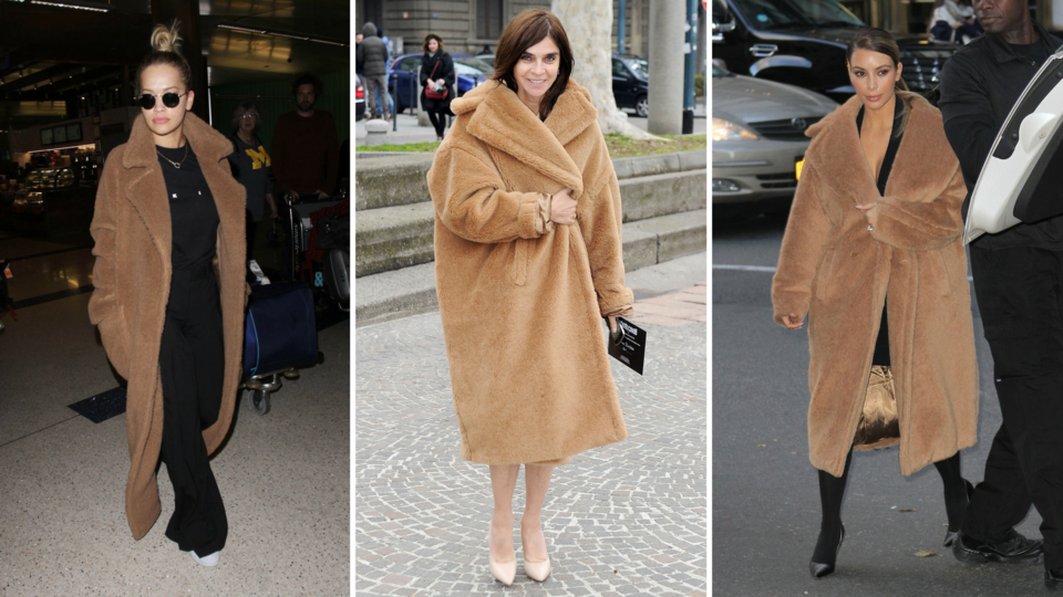 The A-List Are Obsessed With This Camel-Hair Max Mara Coat