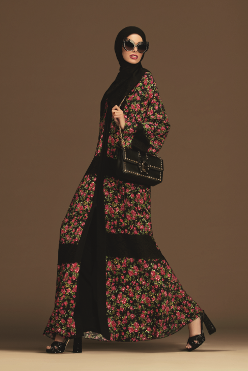 Dolce & Gabbana Release A Colourful New Abaya Collection