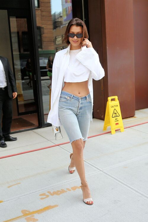 10 Times Bella Hadid Looked Amazing In Denim
