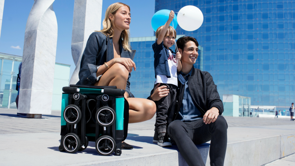 This Travel Pram Will Fit In Any Overhead Locker