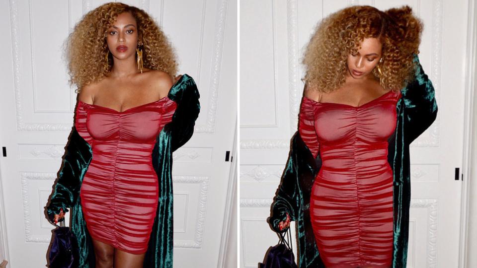 Beyoncé Wears Robe By Dubai-Based Brand Bouguessa