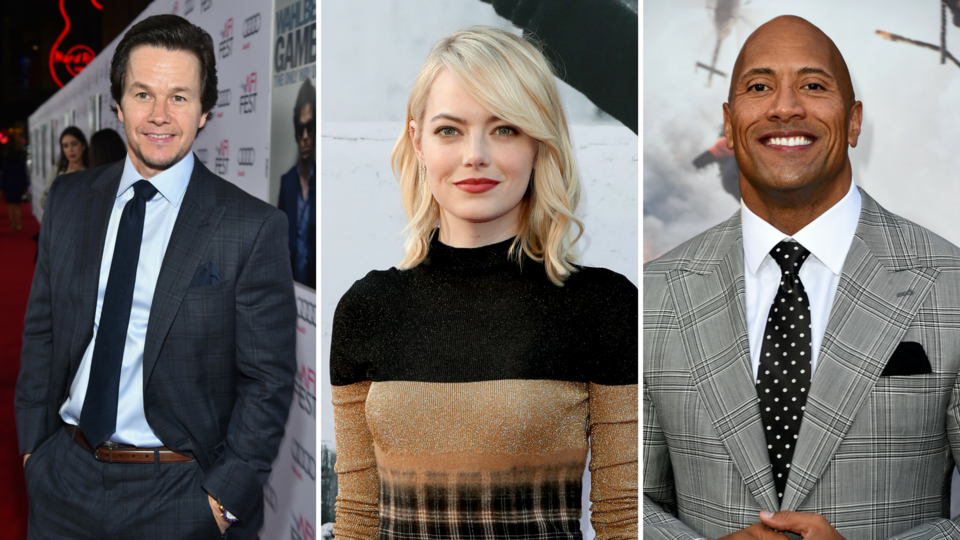Here Are The World's Highest-Paid Actors
