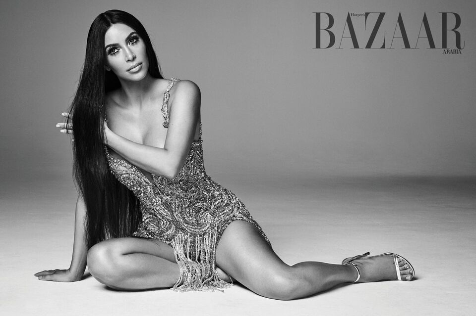Remember This: Kim Kardashian's Bazaar Cover Shoot Inspired By Her Ultimate Style Muse Cher