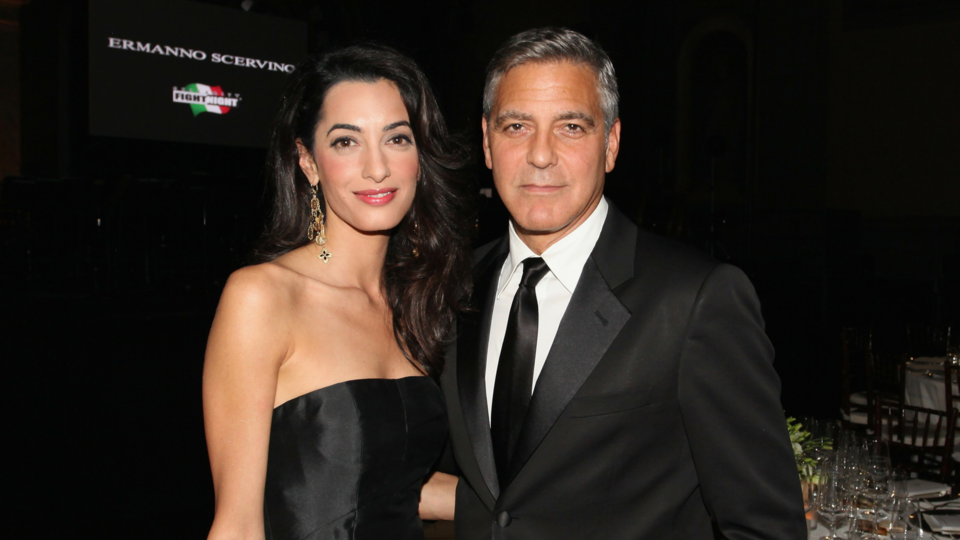 George And Amal Clooney Talk Life With The Twins