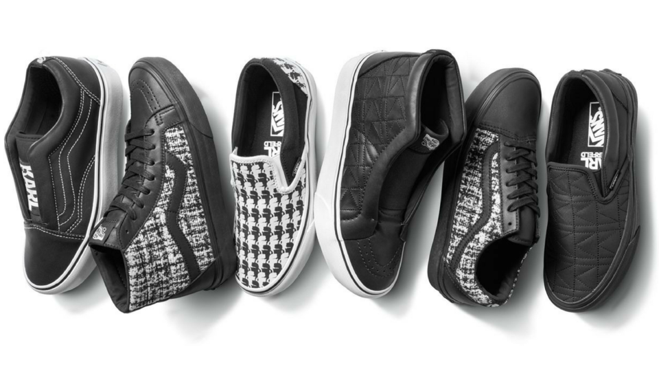 See What Karl Lagerfeld's Vans Collection Looks Like