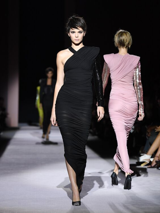 Tom Ford's S/S18 Show At NYFW Was A Top Model Extravaganza