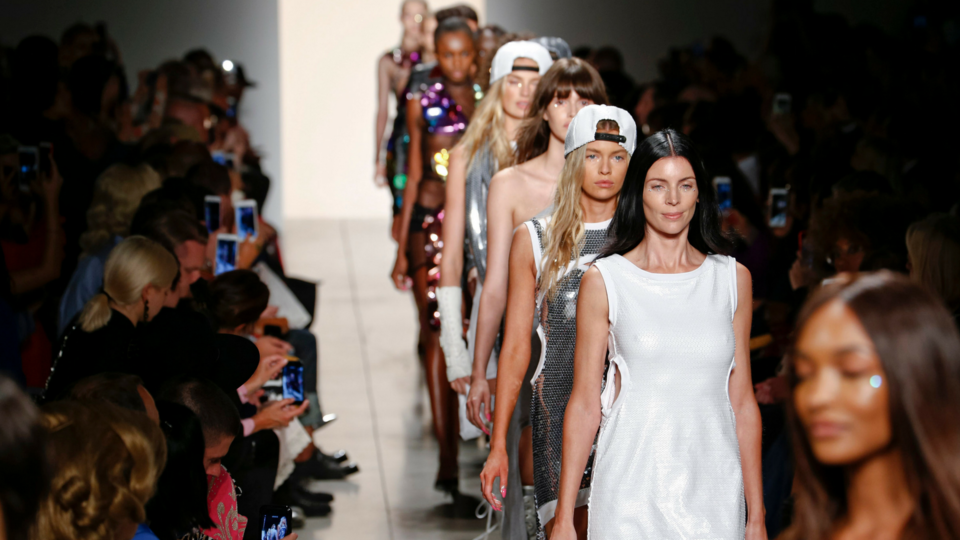 NYFW: Supermodels Past And Present Took To The Runway At Jeremy Scott