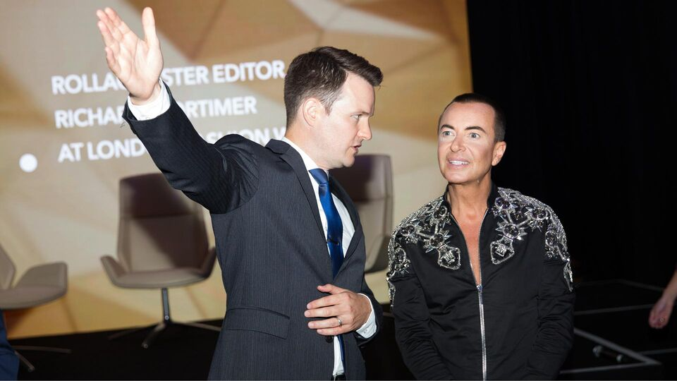 Designer Julien Macdonald Teams Up With Etihad Airways For Exclusive Fashion Event