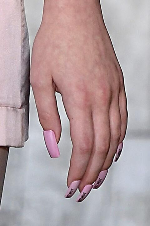 The Key Nail Trends For Spring/Summer 2018