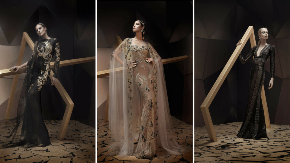 Lebanese Designer Launches New Collection Called 'Desert Phoenix'