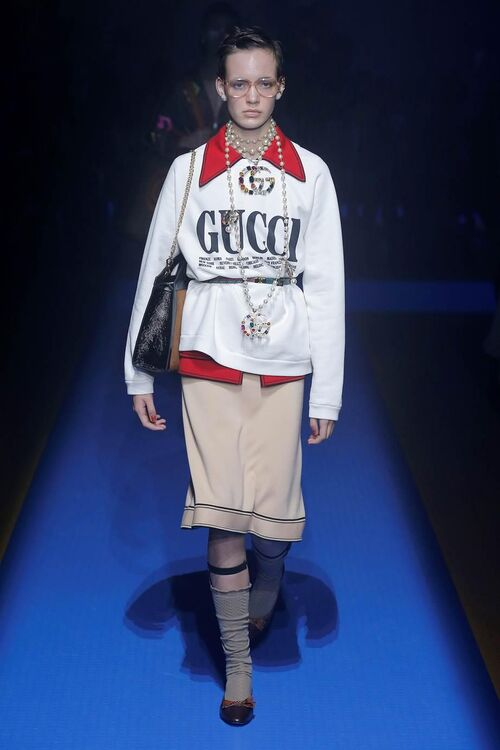 Inside Gucci's Show-Stopping Spring/Summer 2018 Show