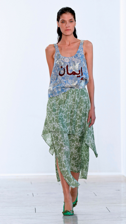 This Belgian Designer Was Inspired By The Middle East For Spring/Summer 2018