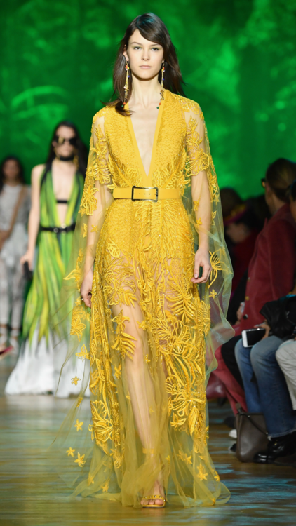 See Every Look From Elie Saab's Show-Stopping Spring/Summer 2018 Collection