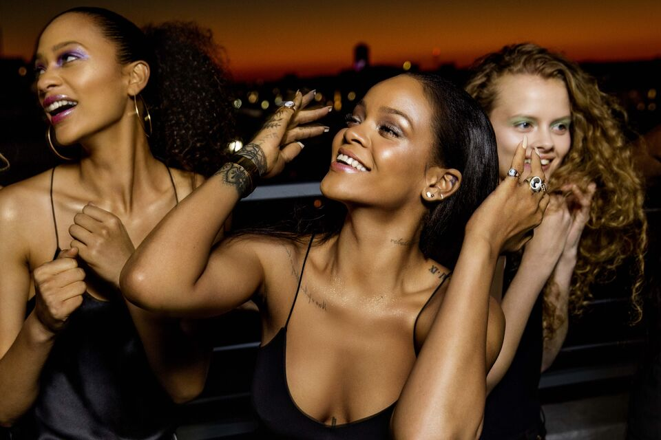 Rihanna's Fenty Beauty Galaxy Collection Drops This Week