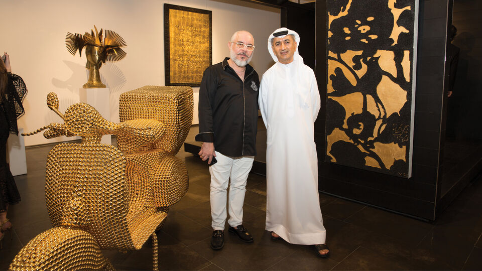Dubai's Opera Gallery Goes Gold With Latest Exhibition