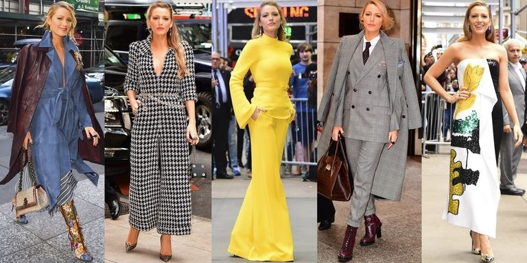 Blake Lively Wears 7 Outfits In One Day