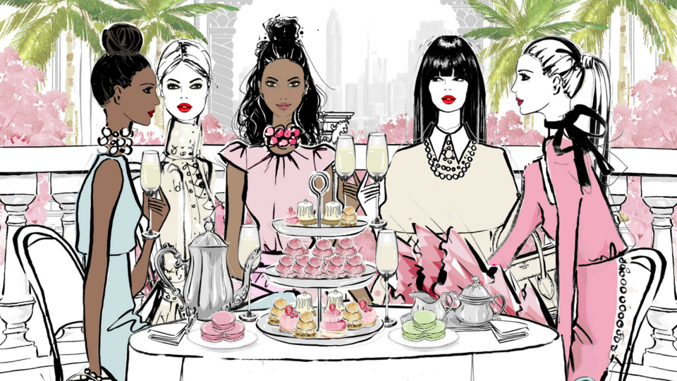 You Can Now Book A Megan Hess-Themed Afternoon Tea