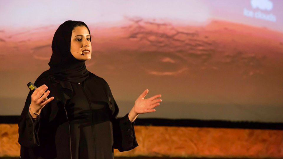 Meet The First Emirati National To Host A Global TED Talk