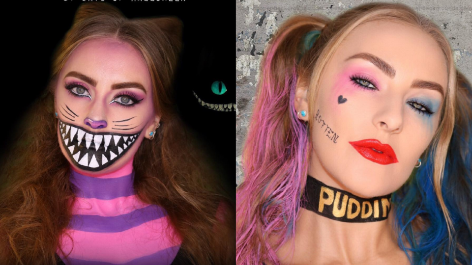This Dubai Beauty Blogger Is Giving Us Major Halloween Make-up Inspo