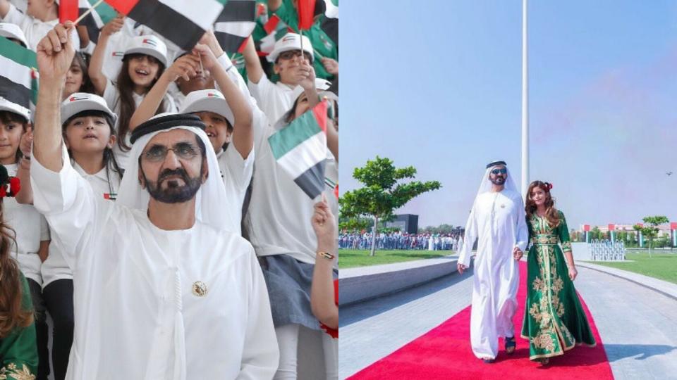 Here's How Sheikh Mohammed Celebrated UAE Flag Day