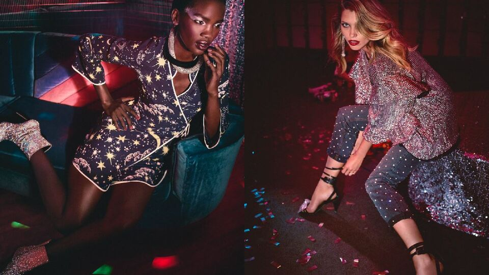 NET-A-PORTER's New Disco Edit Is Festive Wardrobe Goals