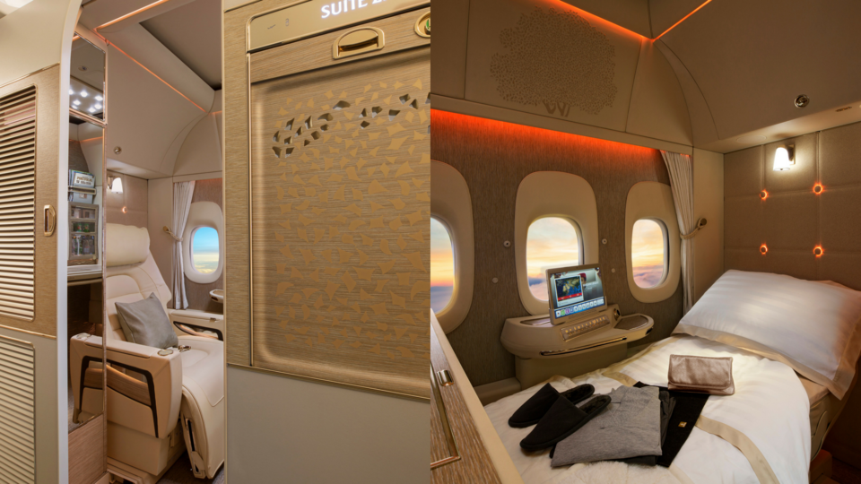 Emirates Unveil Their Game-Changing New First Class Cabin