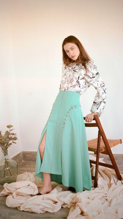 Exclusive: Bahraini Designer Amal Al Mulla Spring/Summer 2018