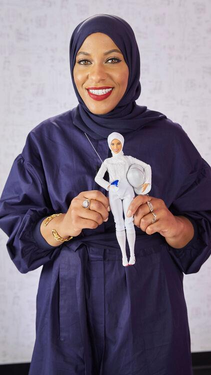Barbie Reveals First Hijab-Wearing Doll To Honour Ibtihaj Muhammad