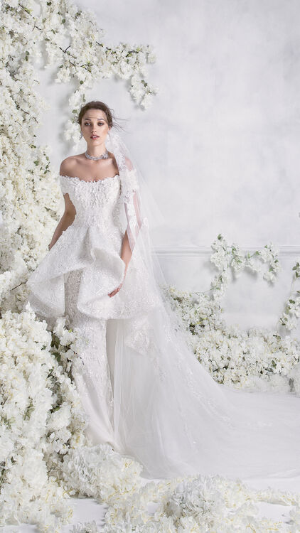 Rami Al Ali Has Just Released His New Bridal 2018 Collection
