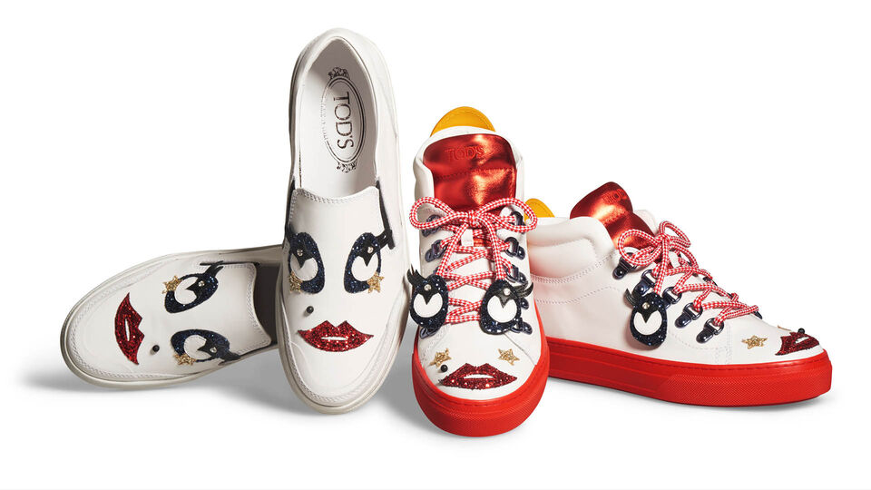 Exclusive: Barbara Palvin Takes Us Behind-The-Scenes Of Tod's Circus Collection