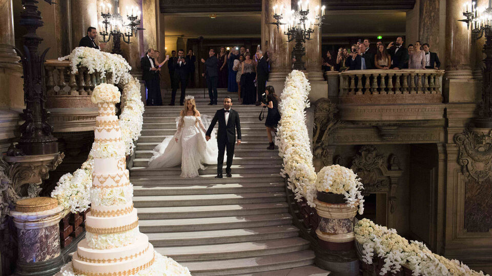 Inside The Wedding Of Lara Khaddam And Mounif Nehmeh