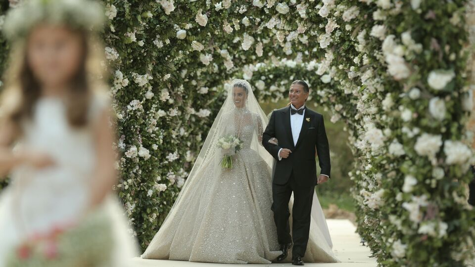 Inside The Wedding Of Lara Scandar And Philippe Katchouni
