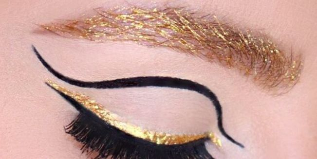 Golden Brows: Would You Try It This Party Season?